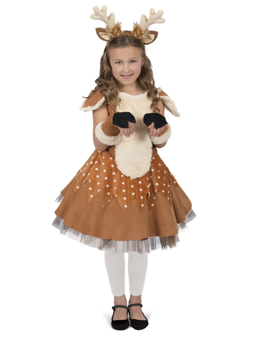 View larger image of Girls Doe the Deer Costume