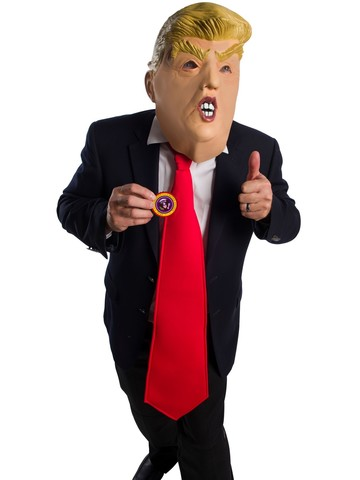 1/2 Mask Donald Chump Mask Kit