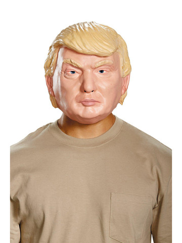 Donald Trump Vacuform Election Half Mask