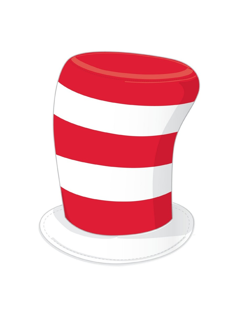 View larger image of Dr. Seuss Cat in the Hat Adult Hat