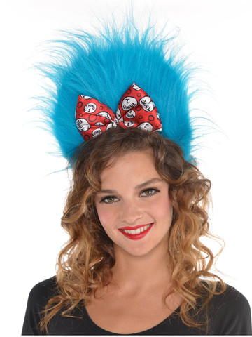 Dr. Seuss Thing 1 & 2 Headband with Hair