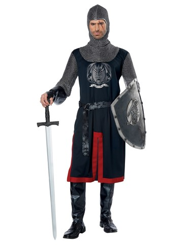 Dragon Knight Mens Costume