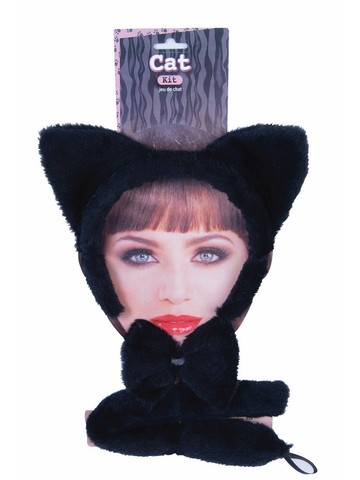 Black Cat Dress-Up Kit