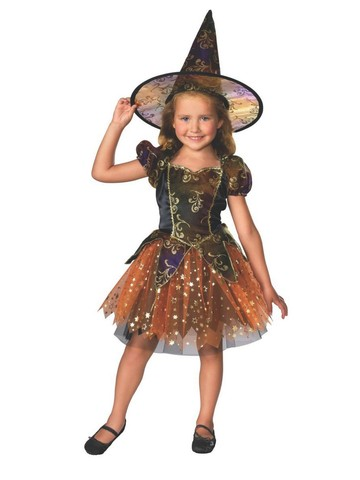 Elegant Witch Costume for Child