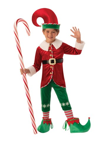 Boys Elf Boy Costume