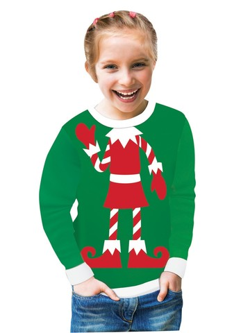 Santa's Helper Christmas Sweater