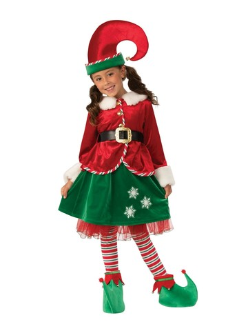 Girls Elf Girl Costume