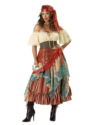 Elite Fortune Teller Adult Costume