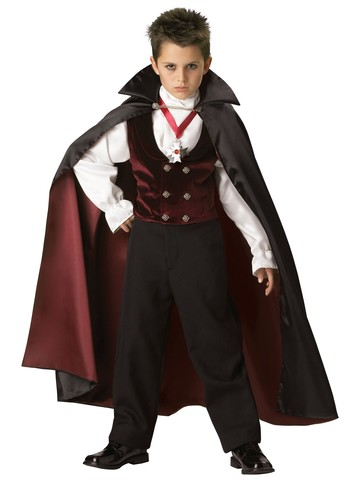 Elite Gothic Vampire Child Costume