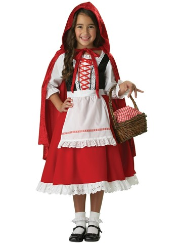 Elite Little Red Riding Hood Child Costume
