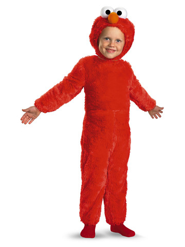 Kids Elmo Plush Costume Deluxe