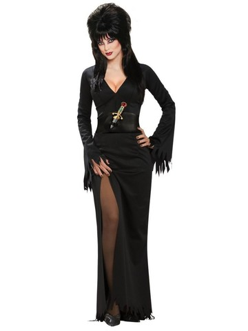 Standard Elvira Halloween Sensation Costume