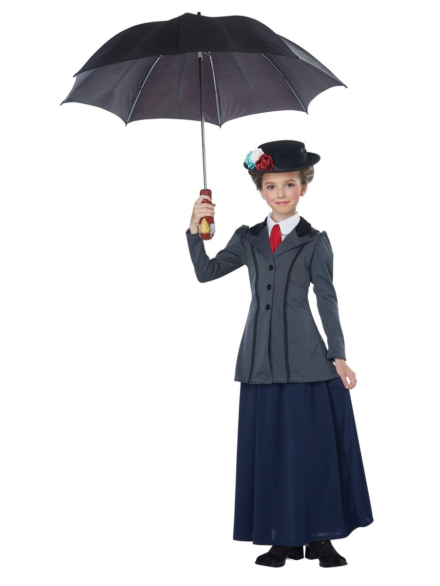 View larger image of English Nanny Kid's Costume