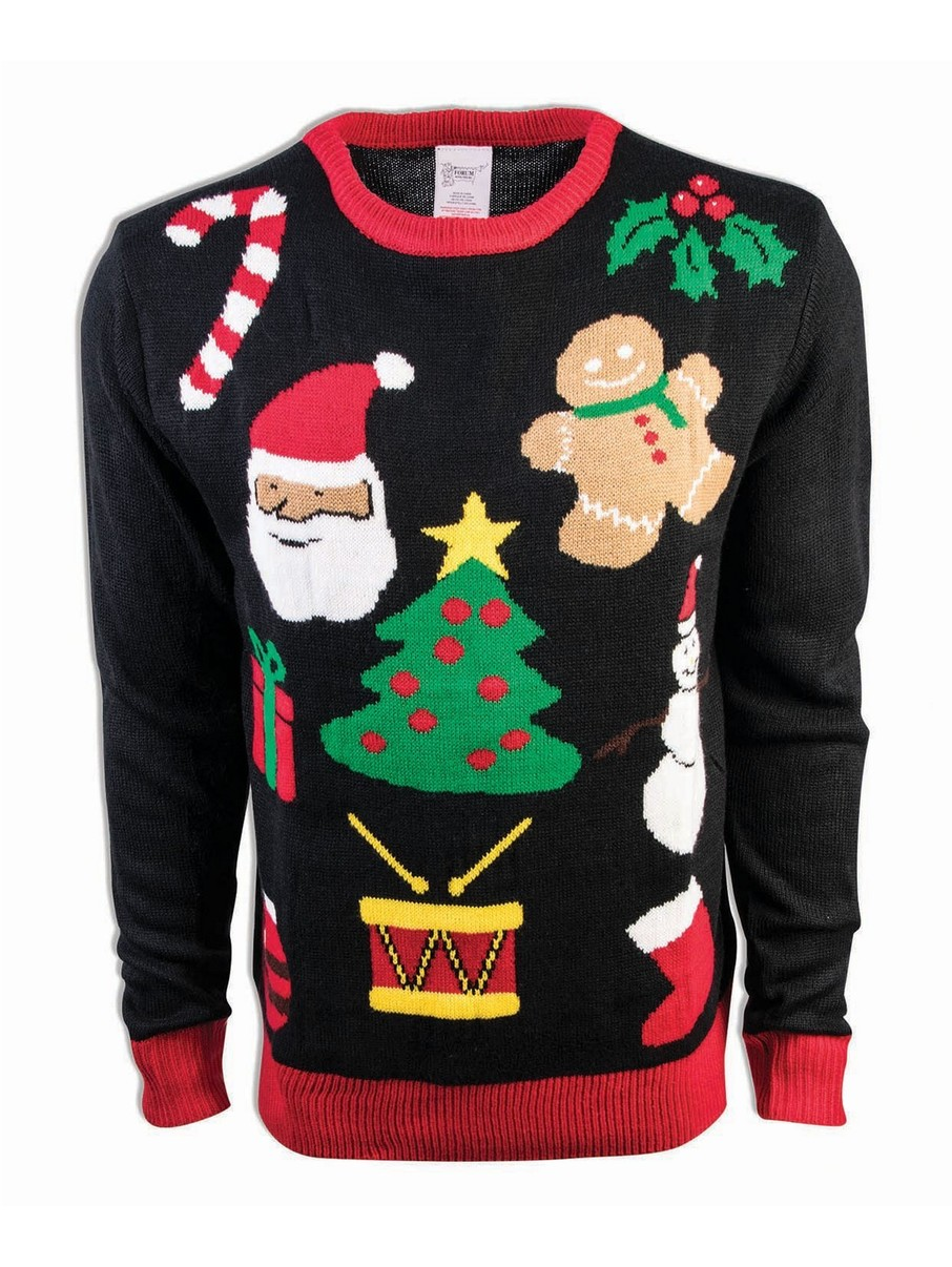 View larger image of Everything Christmas Sweater Costume