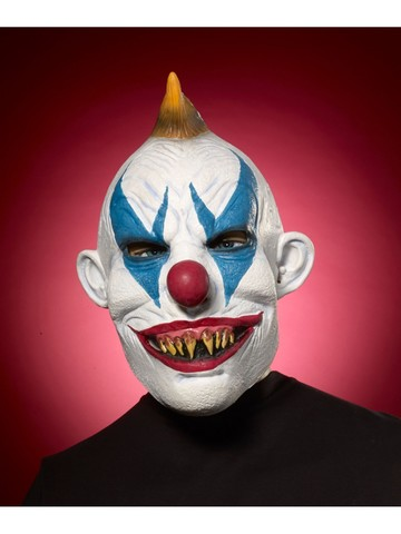 Green Evil Clown Mask