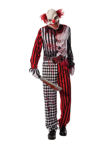 Evil Circus Clown - Adult Costume