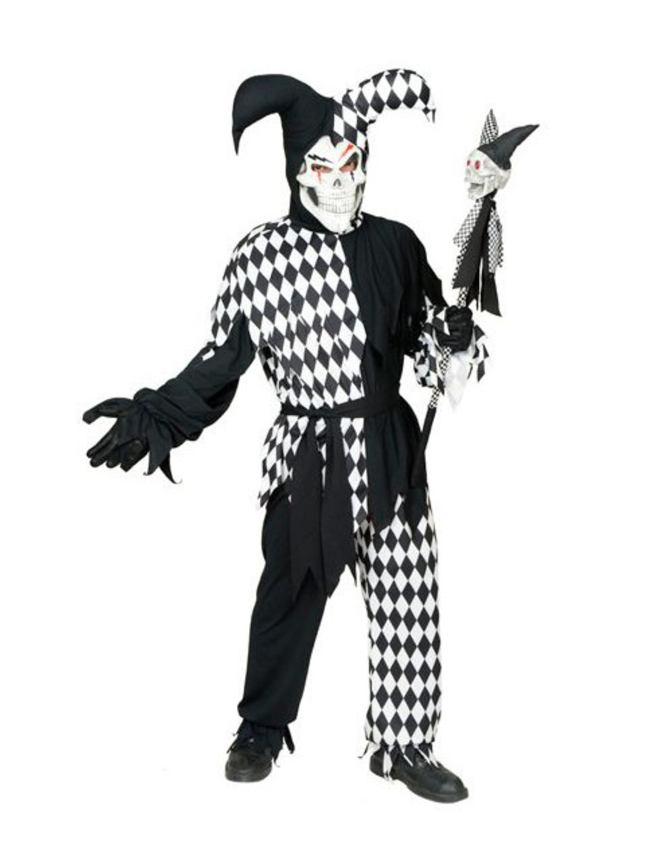 View larger image of Evil Jester Adult Costume