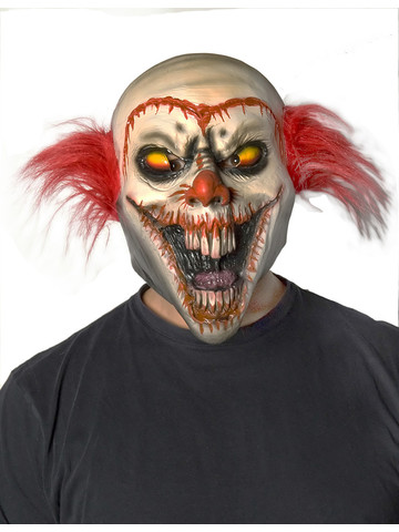 Face-Off Clown Mask