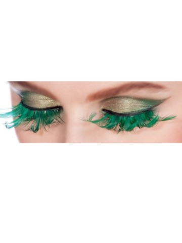 Fairy Emerald Green Eyelashes
