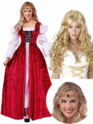Fairy Tale Princess Bride Buttercup Costume Kit