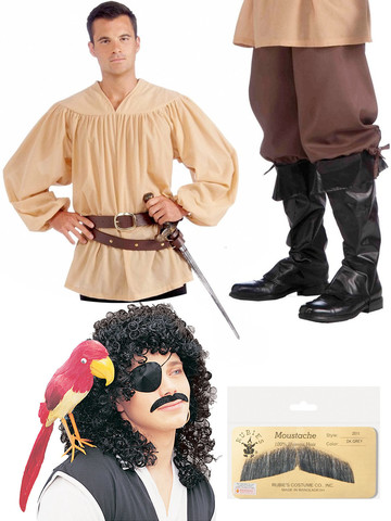 Fairy Tale Princess Bride Inigo Montoya Costume Kit