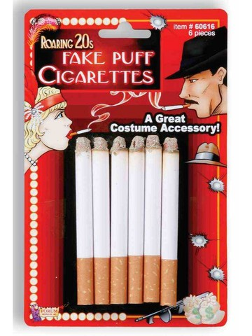 6 Pieces Fake Cigarette Pack