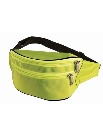 Green and Pink 80's Fanny Pack
