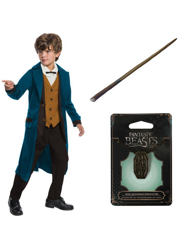 Fantastic Beasts and Where to Find Them Newt Deluxe Childrens Costume Kit