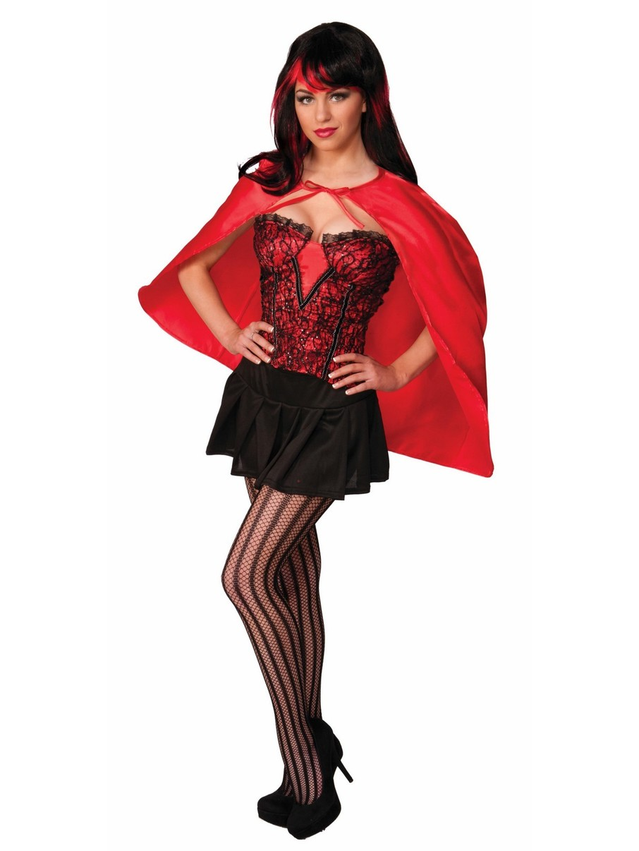 View larger image of Red Fantasy Cape