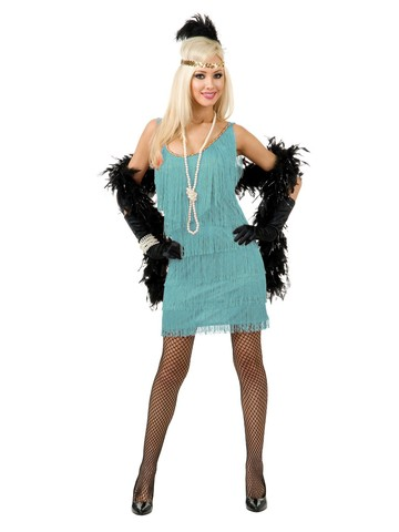 Fashion Flapper Costume for Adults