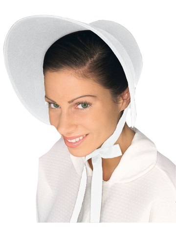 White Bonnet Hat