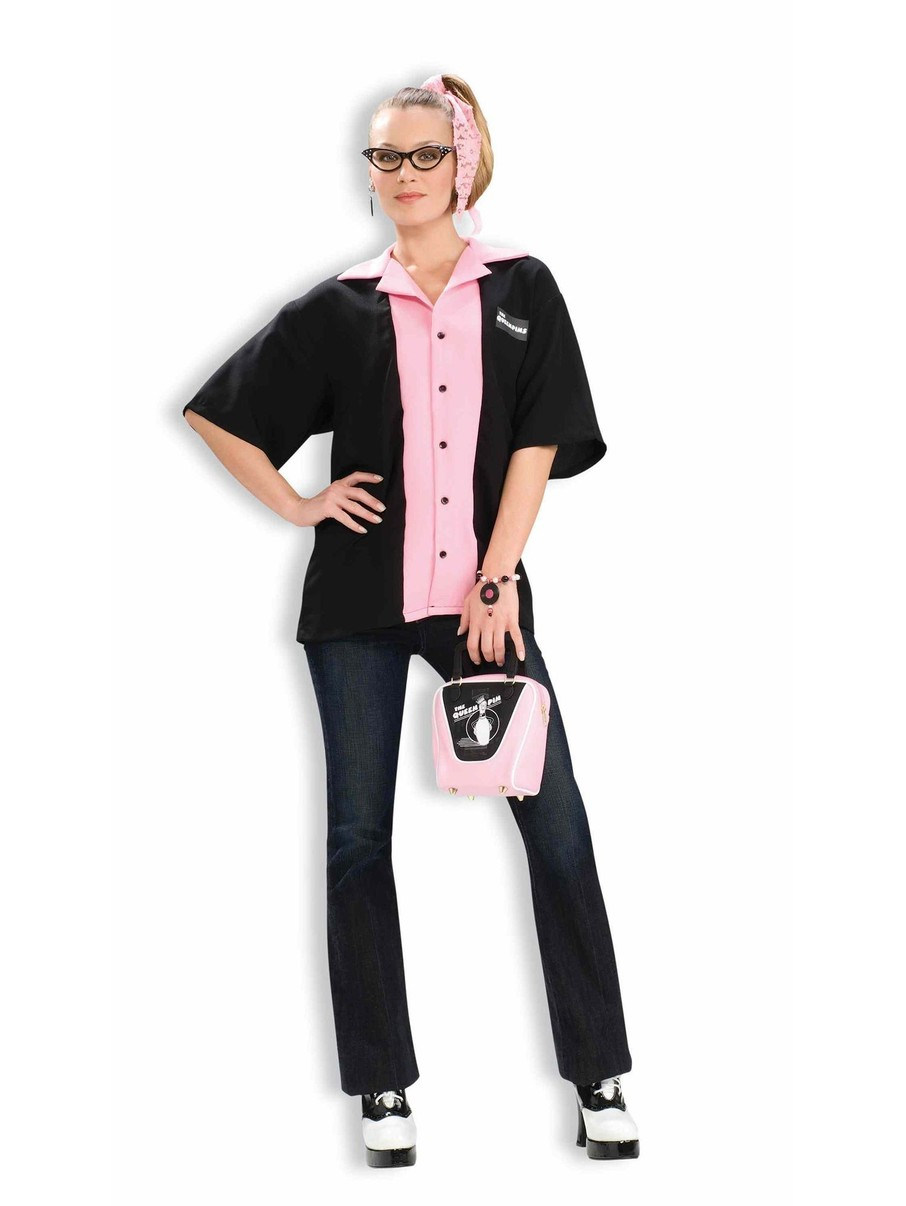 View larger image of Female Bowlers Shirt Adult Costume