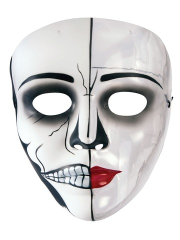Transparent Female Phantom Mask
