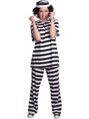 Adult Female Prisoner Costume