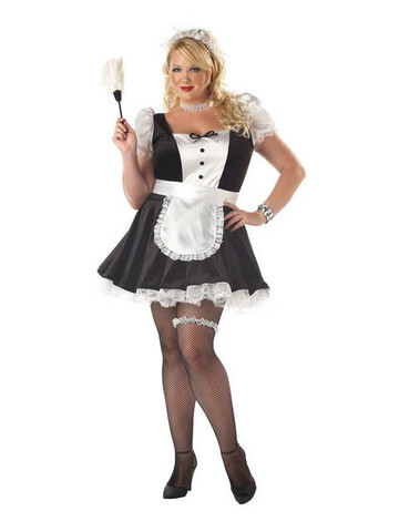 Fiona the French Maid Adult Plus Costume