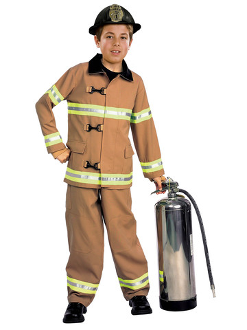 Firefighter - Childrens Costume