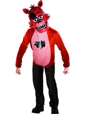 Kids Foxy Five Nights At Freddys Deluxe Costume Set