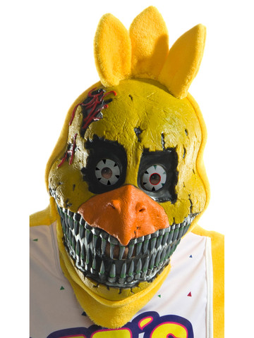 Adult Five Nights at Freddy's - Nightmare Chica PVC 3/4 Mask