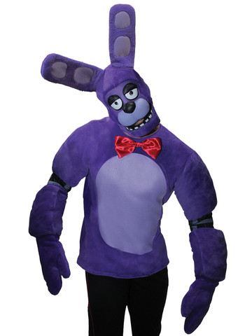 Five Nights at Freddy's Plush Adult Bonnie Costume