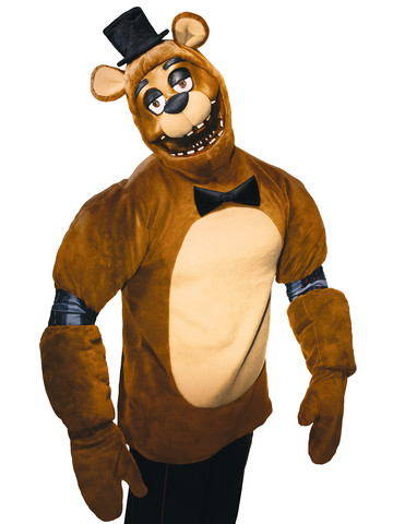 Five Nights at Freddy's Plush Adult Freddy Costume