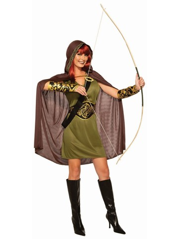 Adult Forest Huntress Costume
