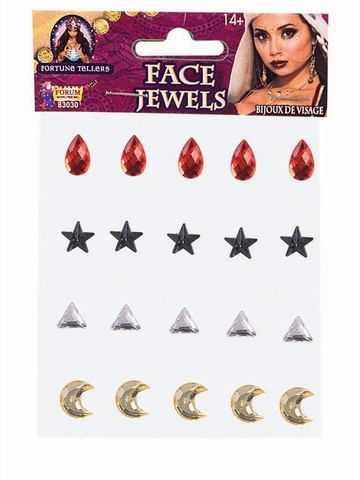 Fortune Teller Face Jewels