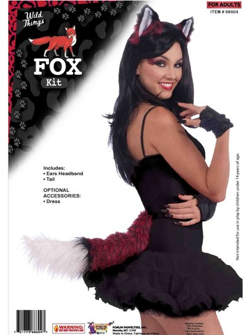 Fox Ears and Tail Set