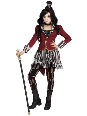 Child Freakshow Ringmistress Costume