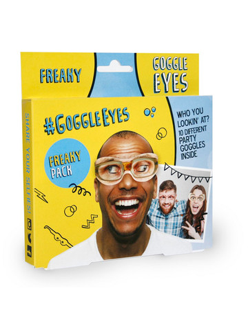 Freaky Goggle Eyes Mask Accessory