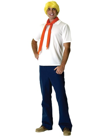 Scooby-Doo Fred Adult Costume