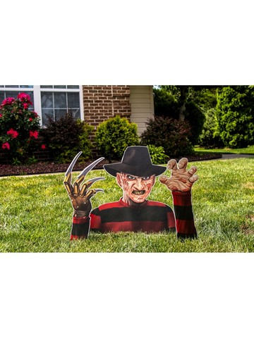 Freddy Krueger Printed Corrugated Ground Breaker Prop