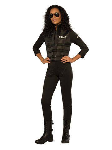 Police Freeze Costume for Adults
