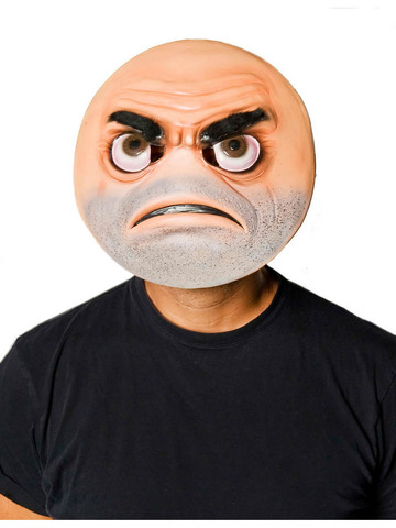 Frown-Moji Costume Mask