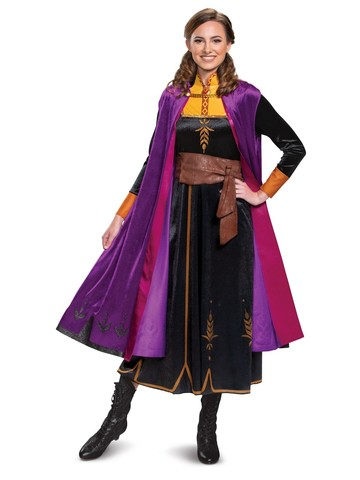 Frozen 2 Anna Deluxe Costume for Ladies
